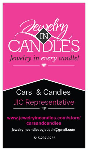 Book a Reveal Home Party with Jewelry in Candles